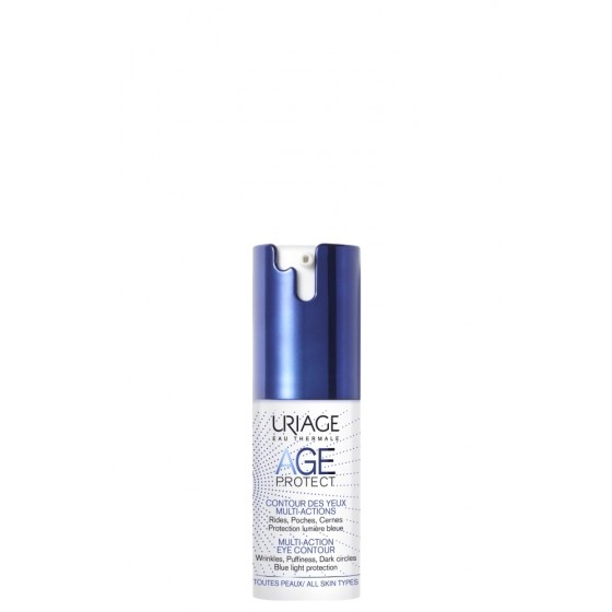 Uriage AGE PROTECT MULTI-ACTION paakių kremas 15ml