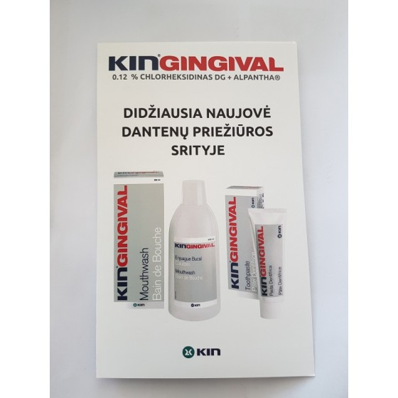 re_k003 - Bukletas KIN Gingival, LT