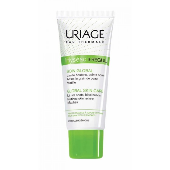 Uriage Hyseac 3-Regul Global lengvas kremas 40ml