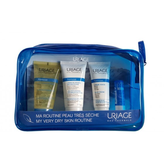 Rinkinys Uriage: Xemose Kit 4 in 1