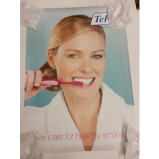 "TEP-141 - TePe plakatas ""We care for healthy smiles"""