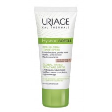 Uriage Hyseac 3-Regul Global SPF 30 lengvas, toninis kremas, 40ml