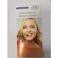 re_t012 Bukletas TePe Simple tips for a healthy smile, LV