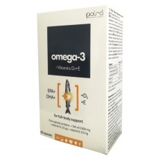 Omega 3 1000mg plus Vitamin D, E N60