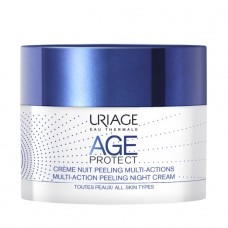 Uriage AGE PROTECT MULTI-ACTION PEELING naktinis kremas 50ml