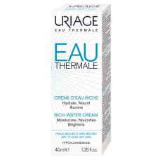 Uriage EAU THERMALE RICH drėkinamasis kremas, 40ml
