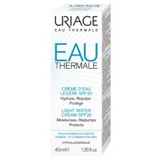 Uriage Eau Thermale Light drėkinamasis kremas SPF20, 40ml